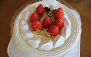クリスマスケーキイチゴ